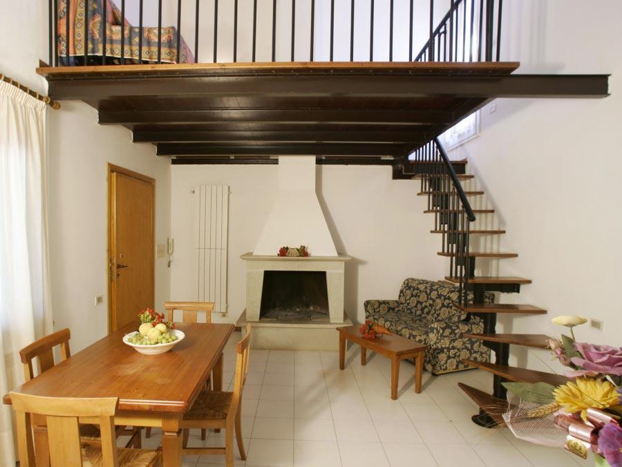 Appartamento in villa - Cormorano/Folaga - 7 posti letto