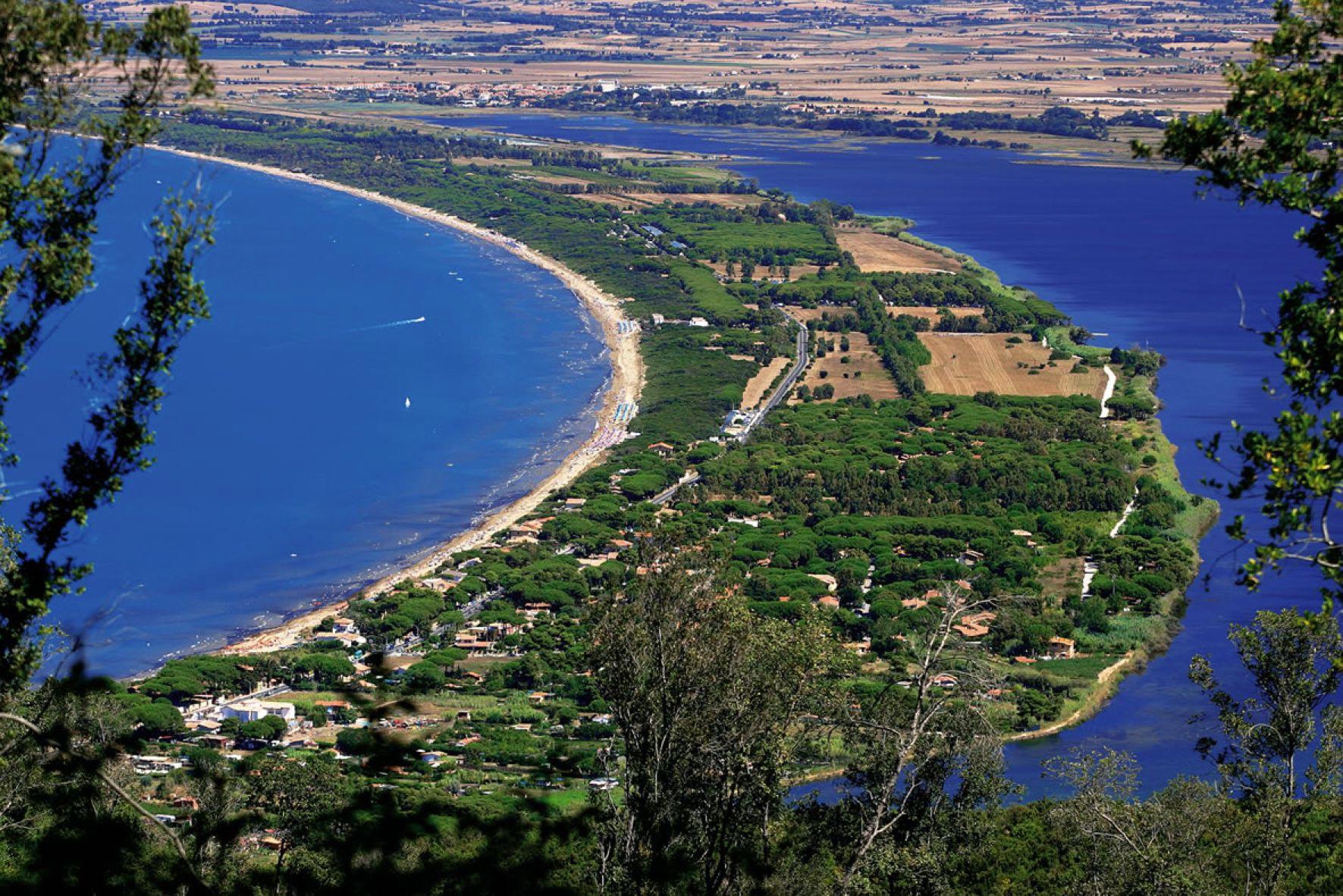 Vista aerea della Giannella