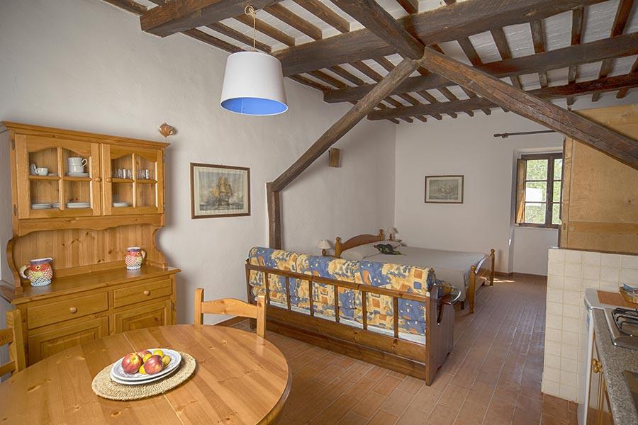 Casale Spagnolo - Monolocale 3 posti letto
