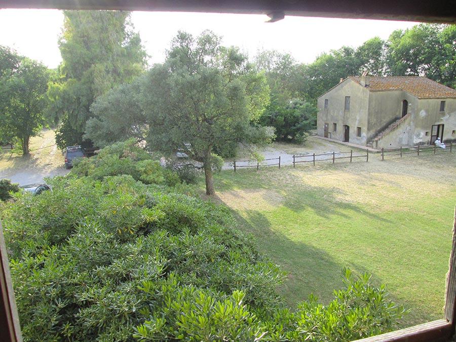 Casale Spagnolo - Vista dal casale